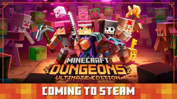 Minecraft Dungeons to Get Released on Steam