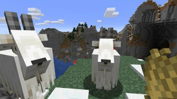 Minecraft Goats Used Real Goats as Voice Over -2