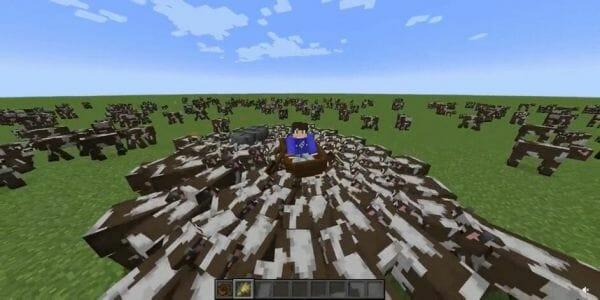cow surfing minecraft - 1
