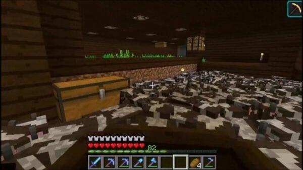 cow surfing minecraft - 2