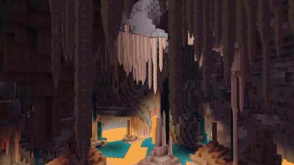 minecraft 1.18 - cave