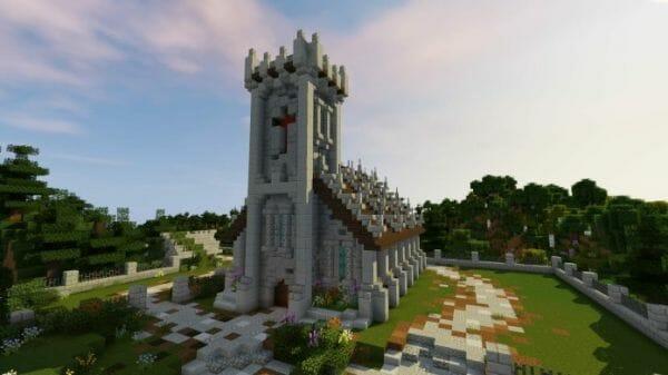 minecraft church 2