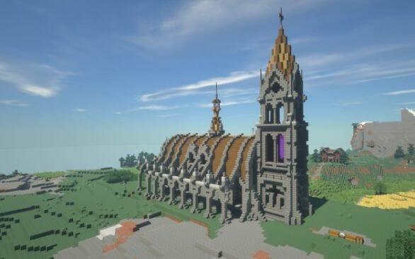 minecraft church - main