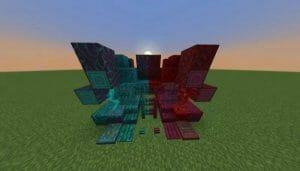 Animated Crimson and Warped Blocks Pack 1.18 - 1