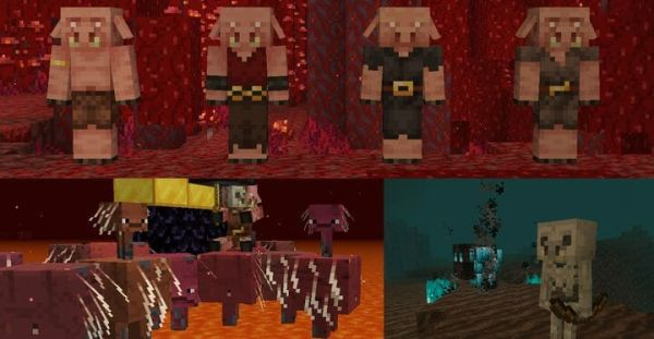 Creature Variety for 1.17.1 - Random Mobs 1.17.1 -3
