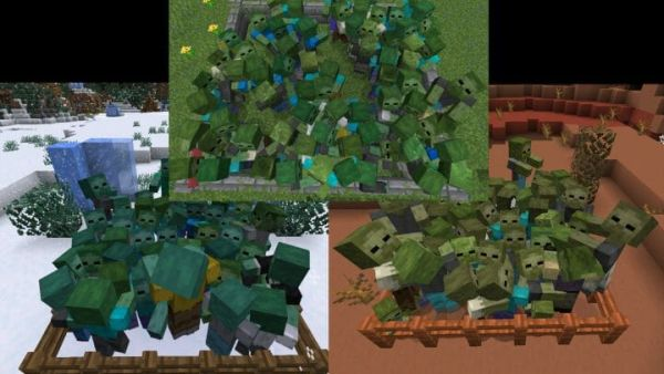 Creature Variety for 1.17.1 - Random Mobs 1.17.1 - 4