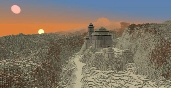 Skilled Gamer Creates Entire Star Wars Galaxy in Minecraft