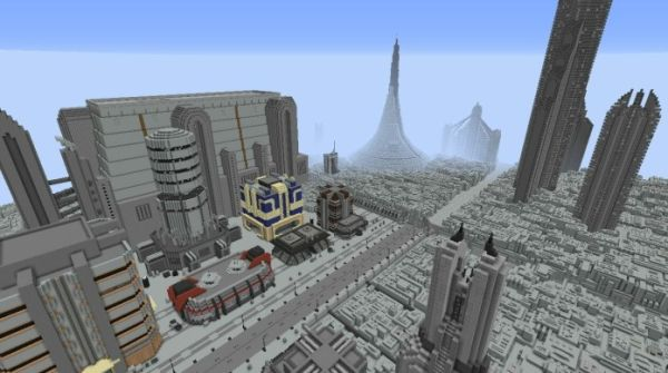 Skilled Gamer Creates Entire Star Wars Galaxy in Minecraft - 4