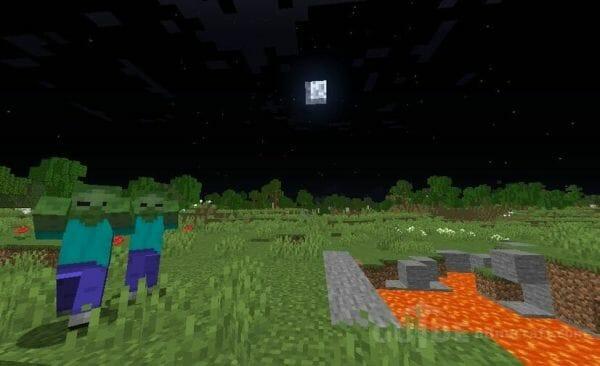 Nightly v1.1 - Night vision for Minecraft 1.17.1 - 2