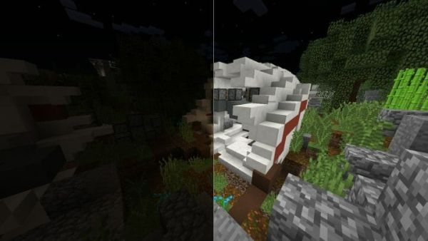 Nightly v1.1 - Night vision for Minecraft 1.17.1 - main