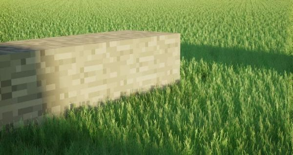 Realistic Grass for Low End PC 1.17.1 - 1