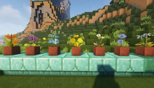 Willos Better Flowers and Grass Resource Pack 1.17.1 - 1